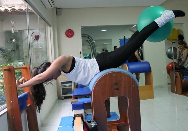 Método Pilates em Petrolina (Foto: Amanda Lima)