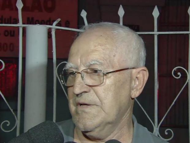 Sobrinho de idosa encontra morta diz que relação dela com o marido era cordial, em Goiânia, Goiás (Foto: Reprodução/TV Anhanguera)