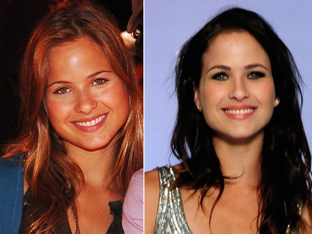Antes e depois. À esquerda Luiza como Manu, a protagonista de Malhação em 2006 e à direita atualmente (Foto: TV Globo/Márcio de Souza / Globo / Estevam Avelar )