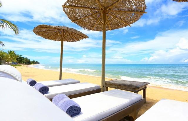 Área na praia (Foto: Divulgação)