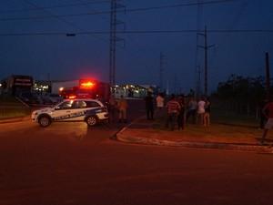 Operação para detonar explosivo durou uma hora e meia (Foto: Kleyton Santos/Arquivo pessoal)