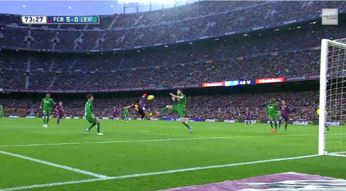 Luis Suárez Barcelona Levante