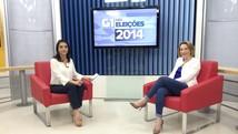 Jaqueline Cassol quer descentralizar saúde (Ana Fabre/G1)