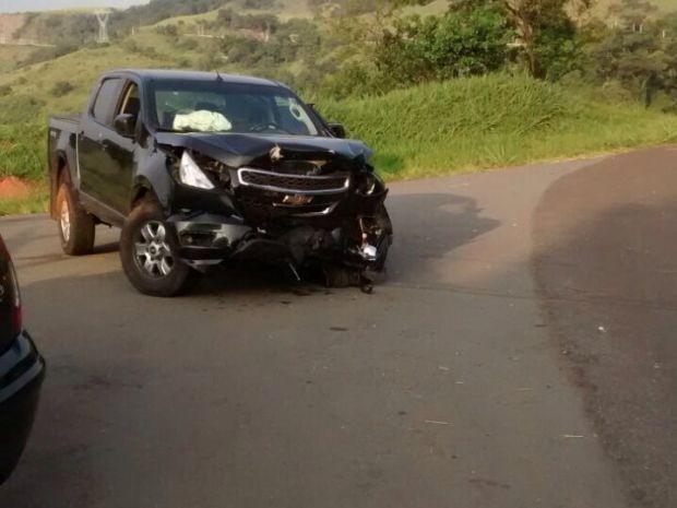 Cantor estava sozinho no momento do acidente (Foto: Divulgação / Guarda Municipal de Botucatu)