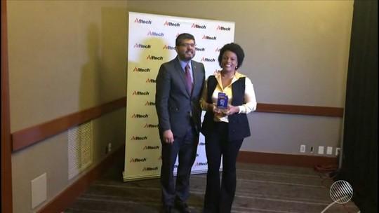 Rede Bahia de Televisão recebe prêmio Alltech de Jornalismo nos Estados Unidos