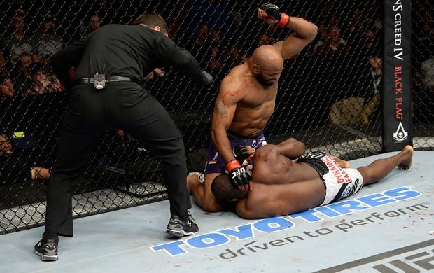 UFC Derek Brunson x Yoel Romero MMA (Foto: Getty Images)