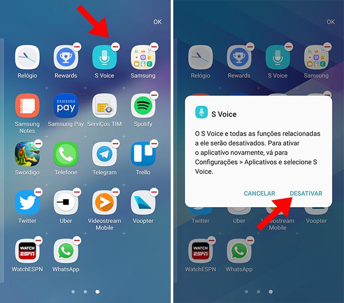 Exclua da gaveta de apps (Foto: Reprodução/Paulo Alves)