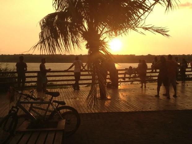 Sol deve predominar em quase todo o estado nesta terça-feira, de acordo com Sipam (Foto: Ivanete Damasceno/G1)