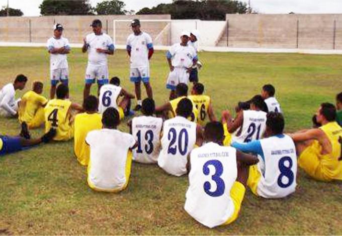 Araioses subiu a primeira divisão do Estadual no ano passado (Foto: Divulgação)