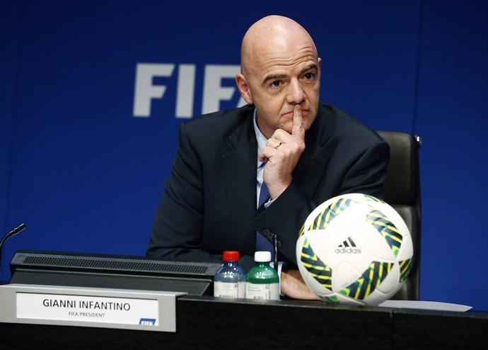 Gianni Infantino Fifa (Foto: Ruben Sprich / Reuters)