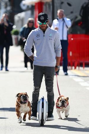 Lewis Hamilton, Mercedes W07 pré-temporada F1 (Foto: Getty Images)