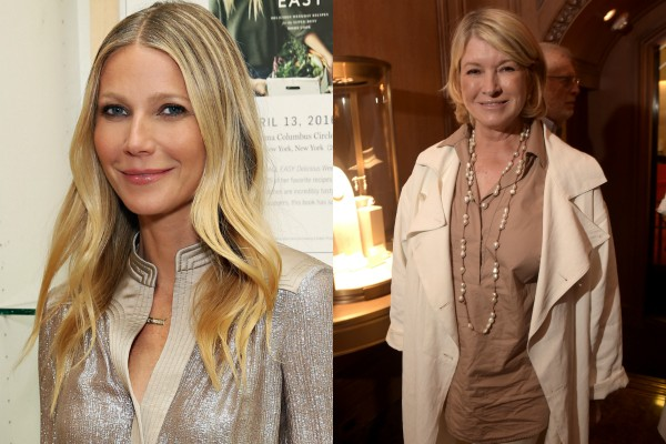 Gwyneth Paltrow x Martha Stewart (Foto: Getty Images)