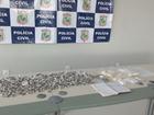 Mulher de 58 anos é presa com crack, cocaína e maconha em Fortaleza