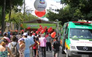 Projeto Caminhar atende a milhares na Praça Floriano Peixoto, em BH (Gil Canaã)