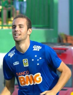 Hugo Ragelli, atacante do Cruzeiro (Foto: Reprodução \TV Globo Minas)