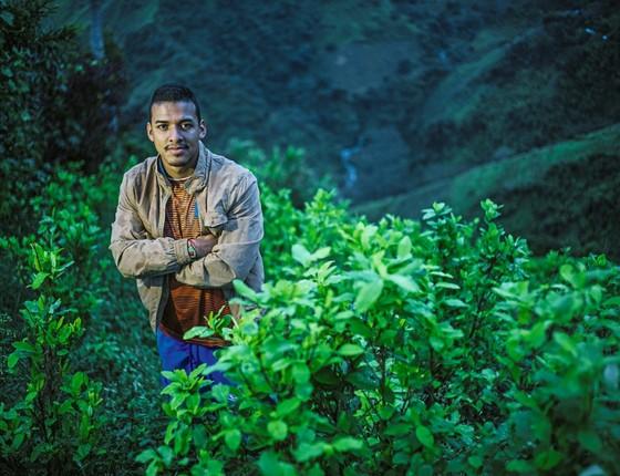 Julian, representante das Farc (Foto: Frederico Rios Escobar/ Época )