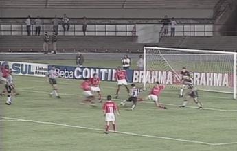 Na Memória: em 96, Euller faz golaço  e ajuda Atlético-MG a vencer o Inter