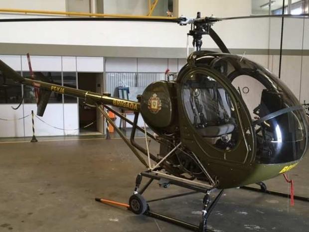 Governo do RS coloca à venda aviões e helicópteros da Brigada Militar (Foto: Divulgação/BM)