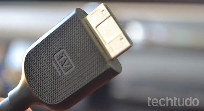 HDMI 2.1 será retro compatível com as gerações antigas da interface (Foto: Melissa Cruz/TechTudo)