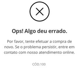 erro 100 (Foto: erro100)