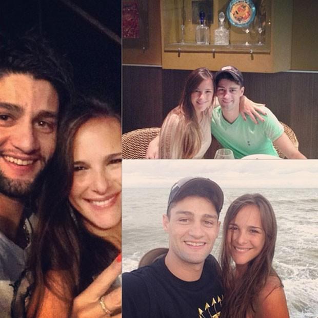 Munhoz e a namorada, Fabiana Lanzi (Foto: Reprodução/Instagram)