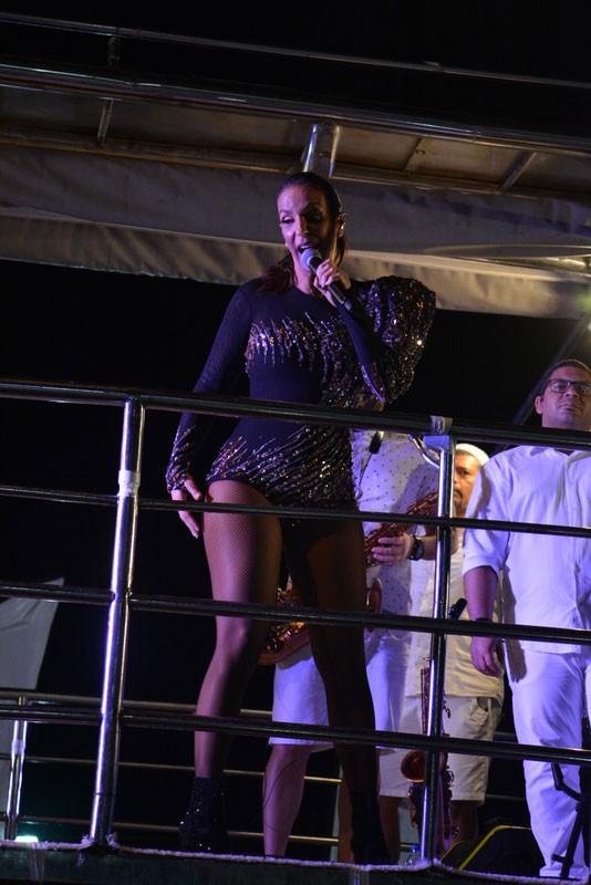 Ivete: corpo impecável (Foto: AgNews / Felipe Souto Maior)