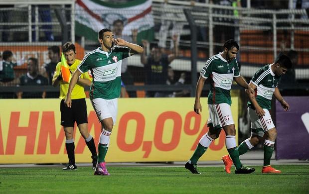 Lucio gol Palmeiras (Foto: Marcos Ribolli)