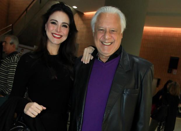 Alexandra Martins e Antonio Fagundes (Foto: Marcos Ribas/Brazil News)