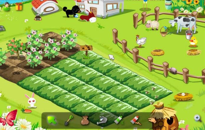 Colheita Feliz: Cuidar de fazendas é a maior diversão das redes sociais (Foto:Reprodução)