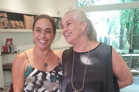 Cissa Guimarães e Vera Holtz (Foto: Arquivo pessoal)