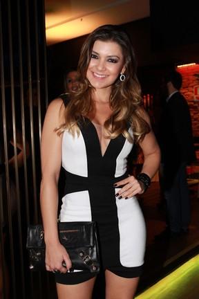 Amanda Françozo em evento em São Paulo (Foto: Cláudio Augusto/ Foto Rio News)