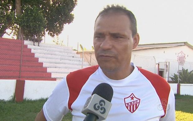 Everton é o novo treinador do Rio Branco. (Foto: Bom Dia Amazônia)