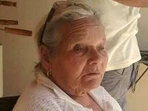 Alberina Dias Matos tinha 79 anos e morreu após engolir um palito de dente (Foto: Alessandro Ramos / Abelhas)