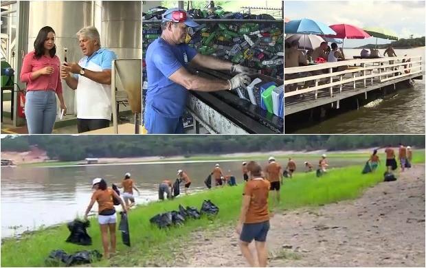 Reportagem mostra dois empresários que se preocupam com o meio ambiente (Foto: Amazonas TV)