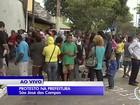 Pelo 2° dia seguido, ex-moradores do Pinheirinho protestam em São José