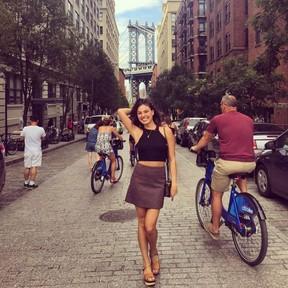 Isis Valverde está passando uma temporada em Nova York (Foto: Reprodução/Instagram)