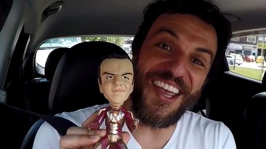 Rodrigo Lombardi se transforma em super-herói no 'Estrelas'