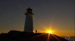 Belas paisagens na Nova Escócia (jornal hoje)