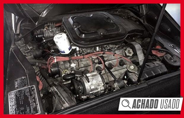 Motor V8 transversal fez da 308 GTS um foguete, mesmo na pesada versão americana (Foto: Reprodução)