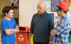 Atores que interpretam os pais de Rafael apóiam combate ao bullying