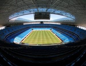 O evento de inauguração da Arena está estimado em aproximadamente R$ 20 milhões.  (Foto: Lucas Uebel / Grêmio, DVG)