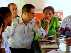 Reunião do Circuito Verde-Trilha dos Bandeirantes em Florestal, MG (Foto: Wanildo Silva/Divulgação)