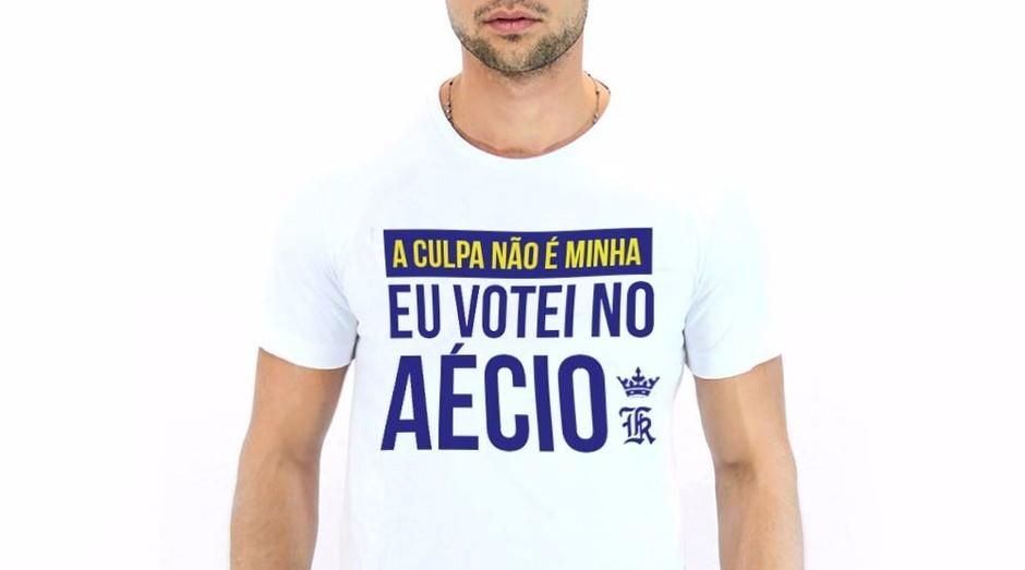 Camiseta de Sérgio K.: ele não vai mais fazer produtos 'políticos' (Foto: Divulgação)