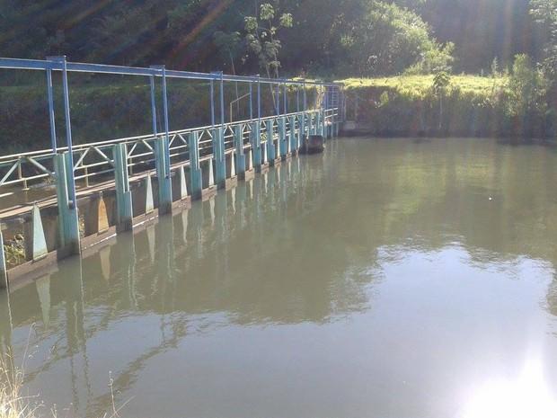 Estação de Água Bom Jardim em Uberlândia (Foto: Caroline Aleixo/G1)