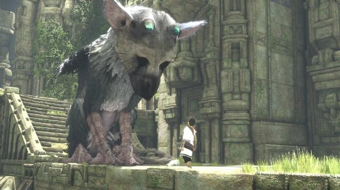 The Last Guardian, em desenvolvimento há quase 10 anos, foi a Gold recentemente (Foto: Reprodução/PlayStation)