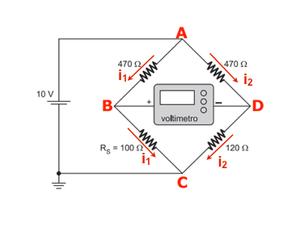 Esquema de resistores (Foto: Colégio Qi)