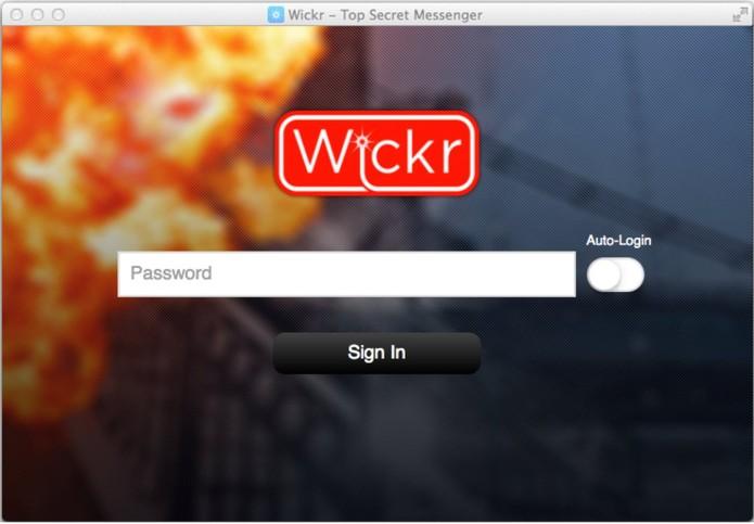 Wickr, app de mensagens seguras que se autodestroem chega ao computador desktop (Foto: Reprodução/Wickr)