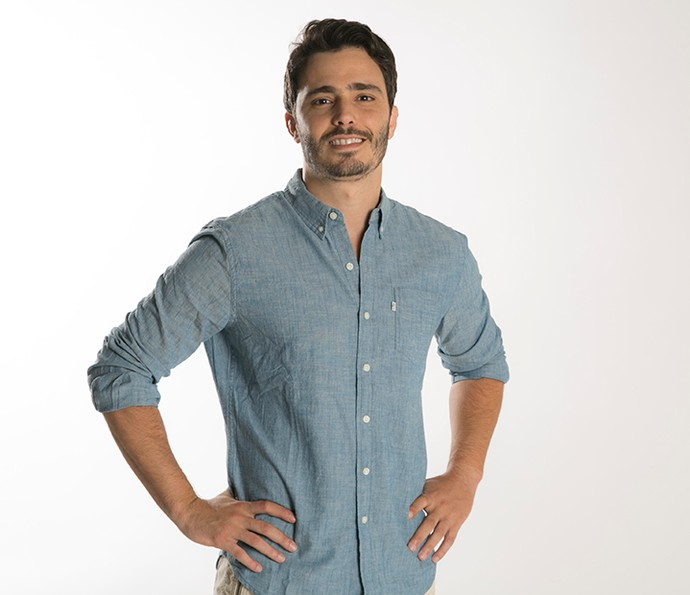 Ricardo é atual namorado de Silvia (Foto: Raphael Dias/Gshow)