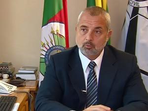 Diretor do Departamento de Homicídio, Paulo Grillo  (Foto: RBS TV/ Reprodução)