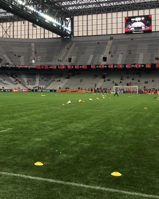 Arena da Baixada Atlético-PR x Santa Cruz (Foto: Thiago Ribeiro)
